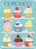 Cupcakes Blechschild