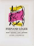 AF 1949 - Musée National D'Art Moderne Impressão colecionável por Fernand Leger