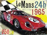 Le Mans 24h 1965 Blechschild