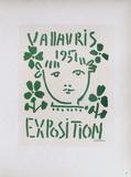 AF 1951 - Exposition Vallauris Impressão colecionável por Pablo Picasso