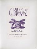 AF 1958 - Adrien Maeght Lámina coleccionable por Georges Braque
