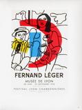AF 1955 - Musée De Lyon Impressão colecionável por Fernand Leger