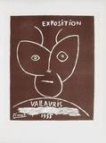 AF 1955 - Exposition Vallauris II Lámina coleccionable por Pablo Picasso
