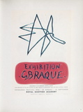 AF 1958 - Royal Scottisch Academy Samlertryk af Georges Braque