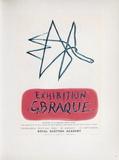 Af 1958 - Royal Scottisch Academy Sammlerdrucke von Georges Braque