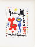 AF 1949 - Galerie Maeght Impressão colecionável por Joan Miró