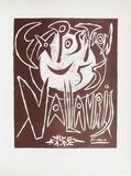 AF 1955 - Exposition Vallauris III Impressão colecionável por Pablo Picasso
