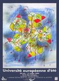 Université Européenne D'Été Impressão colecionável por Roberto Matta