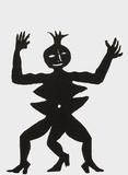 Derrier le Mirroir, no. 212: Critter III Impressão colecionável por Alexander Calder