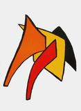Derrier le Mirroir, no. 141: Stabiles VI Impressão colecionável por Alexander Calder