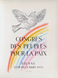 AF 1952 - Congrès des Peuples pour la Paix Samlertryk af Pablo Picasso