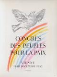 AF 1952 - Congrès des Peuples pour la Paix Stampa da collezione di Pablo Picasso