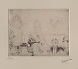 060 - Tentation de Saint-Antoine Limited Edition by Jules Pascin