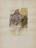 Dessins : La fille Elisa II Lámina coleccionable por Henri de Toulouse-Lautrec