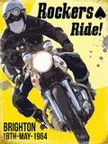 Rockers Ride Blechschild