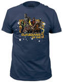 Guardians of the Galaxy - Star Map (slim fit) Camisetas