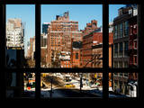 Cityscape of Meatpacking District in Winter - Chelsea - Manhattan, New York, USA Reproduction photographique par Philippe Hugonnard