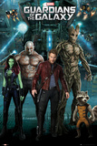 Guardians of the Galaxy - Group Affiche