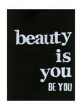 Be Beautiful IV Kunst van Deborah Velasquez