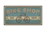 Bike Shop I Poster von Erica J. Vess