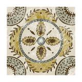Non-Embellished Batik Square VII Prints by Chariklia Zarris