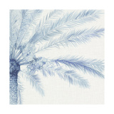 Chambray Palms II Prints by Megan Meagher