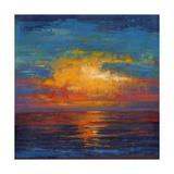 Sun Down II Kunstdruck von Tim O'toole