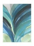 Big Blue Leaf II Reproduction giclée Premium par Jodi Fuchs