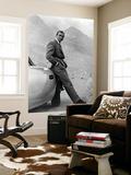 """Sean Connery. """"007, James Bond: Goldfinger"""" 1964 """"Goldfinger"""" ohjannut Guy Hamilton Seinämaalaus"""