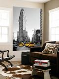 Flatiron Building - Taxi Cabs Yellow - Manhattan - New York City - United States Fototapete von Philippe Hugonnard