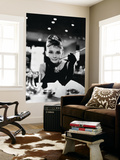 "Audrey Hepburn. ""Breakfast At Tiffany's"" 1961, Directed by Blake Edwards Wall Mural"