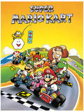 Super Mario Kart - Retro Mestertrykk