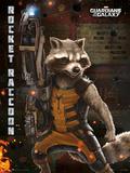 Guardians Of The Galaxy - Rocket Raccoon Masterprint