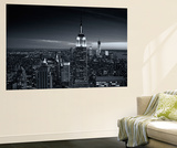 View of city - Manhattan - New York City - United States Wall Mural by Philippe Hugonnard