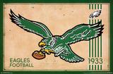 Philadelphia Eagles - Retro Logo 14 Print