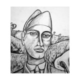 Italian Soldier, 2014 Giclée-tryk af Rob Woods