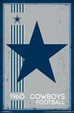 Dallas Cowboys - Retro Logo 14 Prints