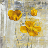 Yellow Flowers II Posters av Carol Black