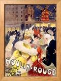 Moulin Rouge Gerahmter Giclée-Druck von E. Paul Villefroy