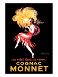 Cognac Monnet Planscher av Leonetto Cappiello