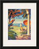 Palm Beach, Florida Posters by Kerne Erickson