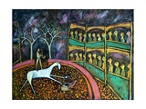 Disc Jockey, 2011 Giclée-tryk af Rob Woods