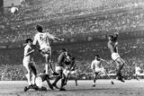 Real Madrid 3 vs Manchester United 3, May 1968 Fotografisk trykk