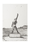 Freddie Mercury Statue, Montreux, Switzerland Reproduction procédé giclée par Vincent Booth
