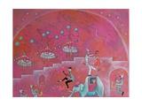 The Tea Dance, 2011 Giclée-tryk af Rob Woods