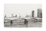 Waterloo Bridge, London Reproduction procédé giclée par Vincent Booth