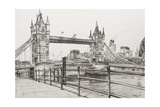 Tower Bridge, Londres Reproduction procédé giclée par Vincent Booth