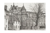 Falkland Palace, Scotland Reproduction procédé giclée par Vincent Booth
