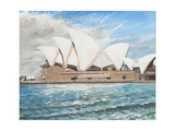Opéra de Sydney Reproduction procédé giclée par Vincent Booth