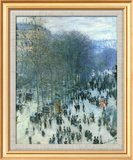 Boulevard des Capucines Stampe di Claude Monet